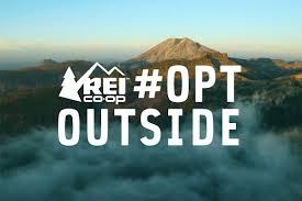 #OptOutside REI