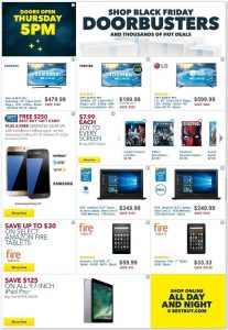 Best Buy Black Friday 2016 Ad - Page 1