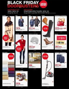Macy's Black Friday 2016 Ad Preview - Page 1
