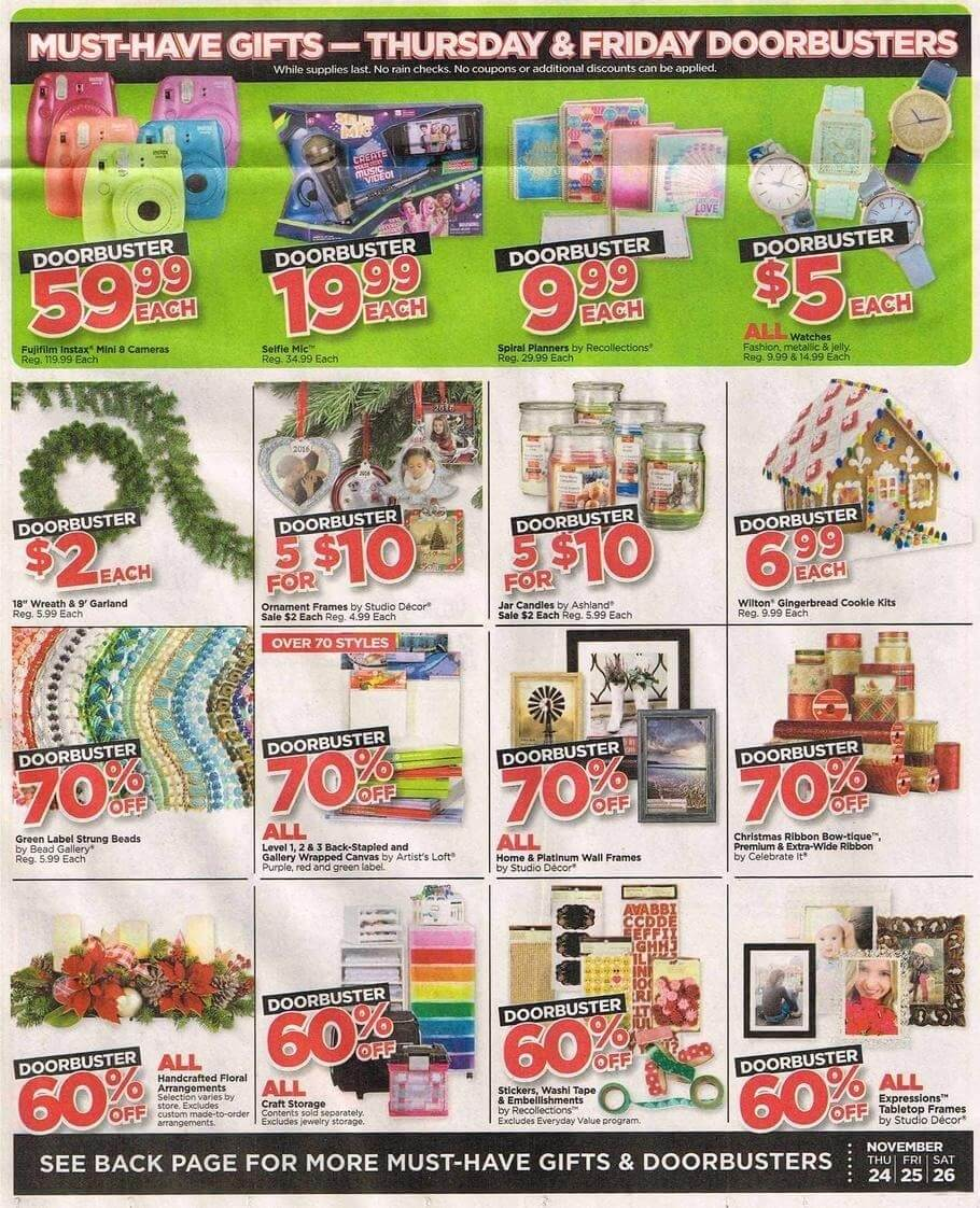 Michael's Black Friday 2016 Ad - Page 2