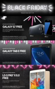 T-Mobile Black Friday 2016 Ad - Page 1